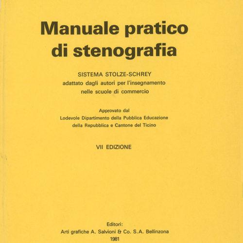 Manuale di stenografia